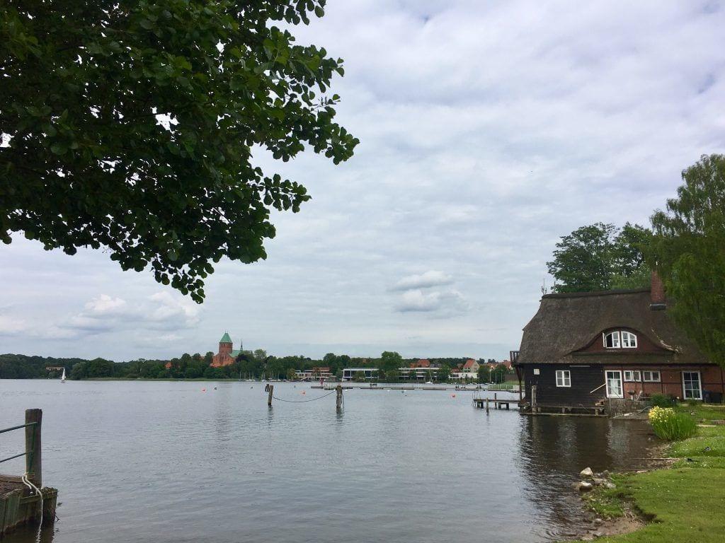 Blick auf die Inselstadt Ratzeburg am Großen Ratzeburger See