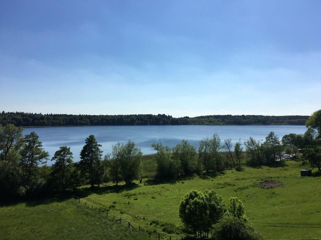 Blick vom Aussichtsturm in Dargow - Radtour um den Schaalsee