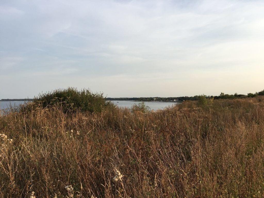 Auf der Steilküste mit Blick nach Boltenhagen - wandern an der Ostsee