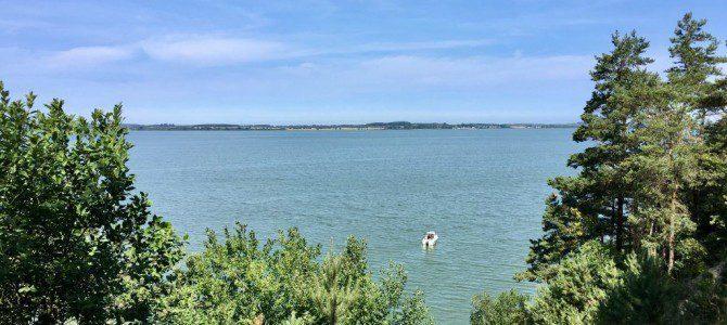 Wanderung auf Usedom: Von Krummin auf die Halbinsel Gnitz