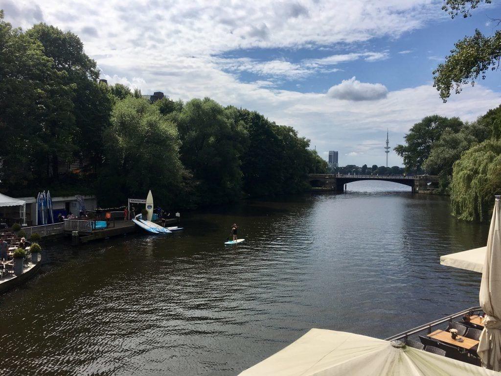 Der Mundsburger Kanal