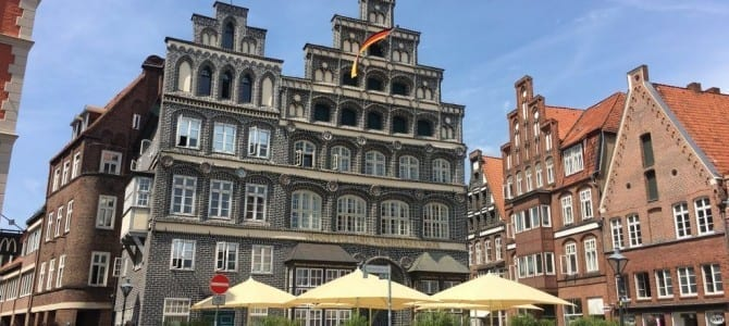 Fahrradtour ab Bienenbüttel über Lüneburg und die Elbe nach Hamburg