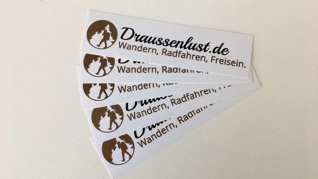 Draussenlust.de Sticker