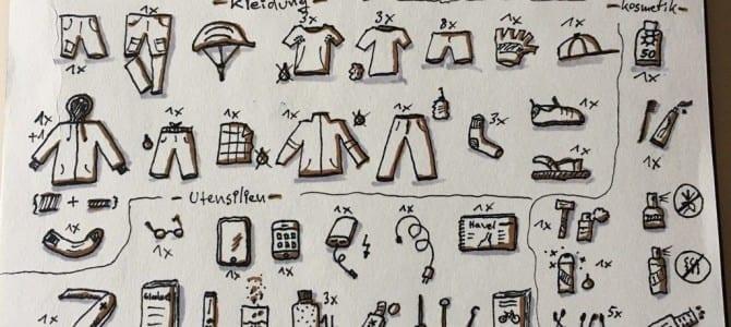 So macht Packen Spaß: Reise Packliste als Sketchnotes