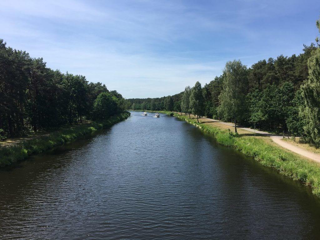 Oder-Havel-Kanal bei Oranienburg