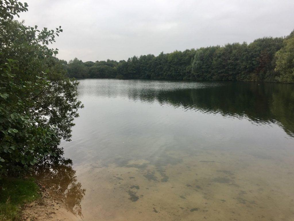 Blick auf den Hummelsee in Hummelsbüttel