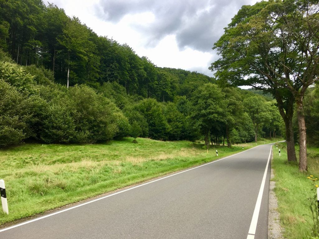 Fahrradtour im Harz : An der L520 nach St. Andreasberg