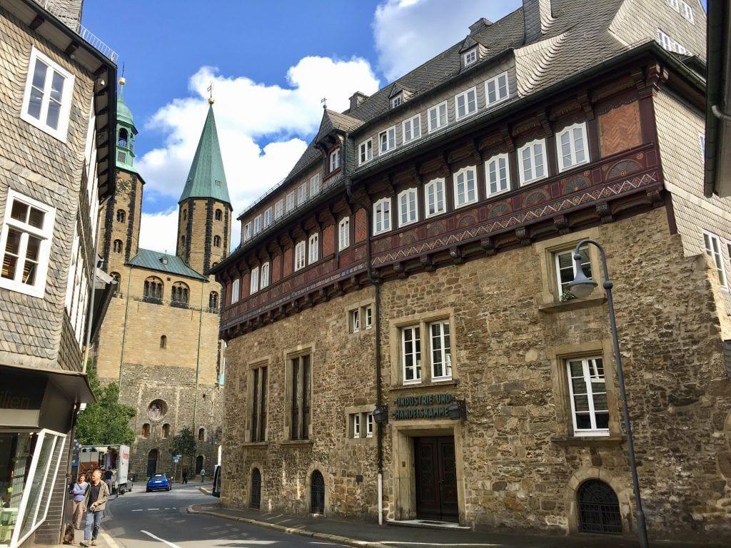 In der Altstadt von Goslar, hier die IHK