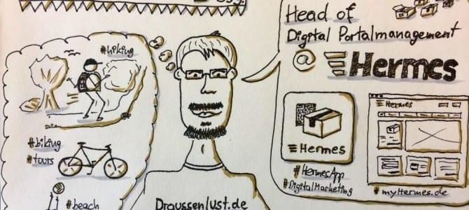 Mein Sketchnote-Selfie für das #isc17hh
