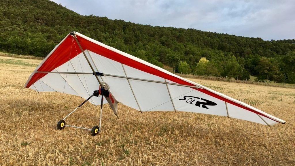 """""""Mein"""" Übungs-Drachen mit 18 qm Flügelfläche"""