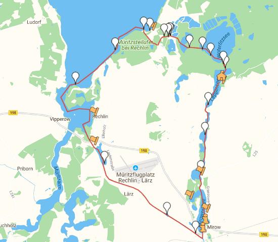 Müritz-Alte Fahrt - Wasserwandern an der Müritz