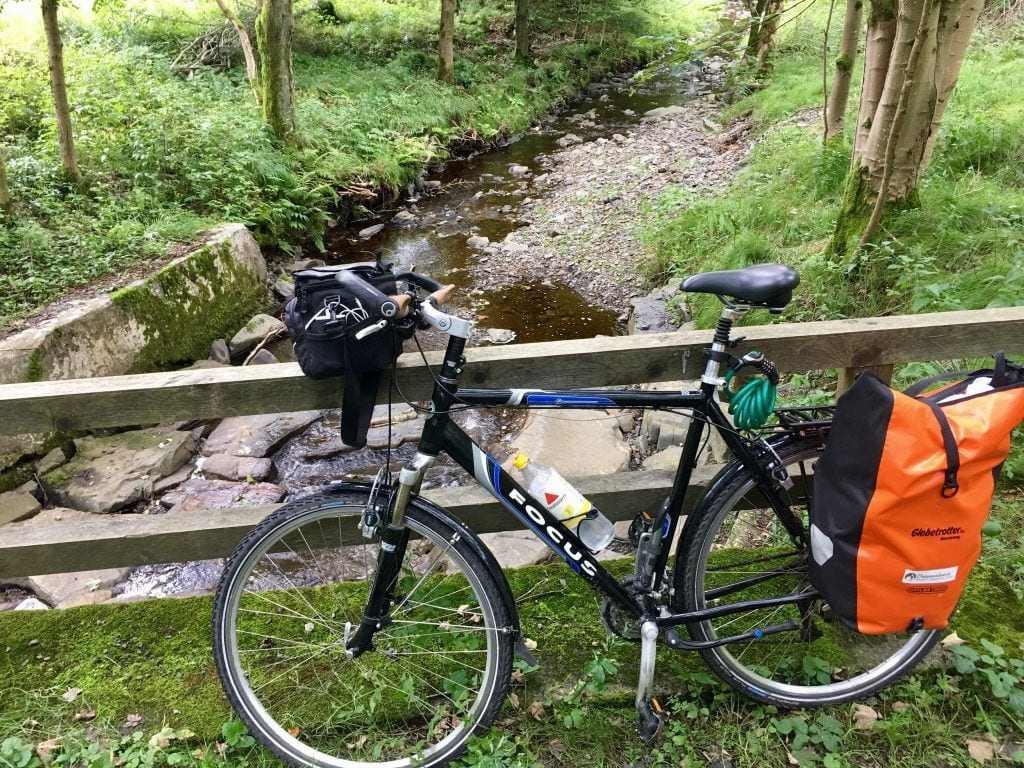 Radtour im Harz - Weniger Gepäck wäre noch besser gewesen ;)