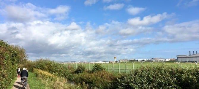 Radfahren in Hamburg: Den Flughafen in schöner Natur umrunden