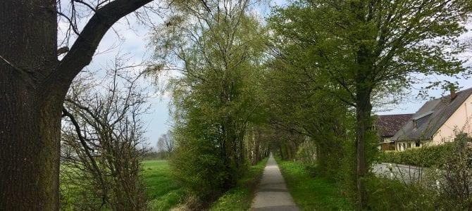 Große Fahrrad-Rundtour in Hamburgs Osten mit Wandse und Radwanderweg Glinde-Trittau