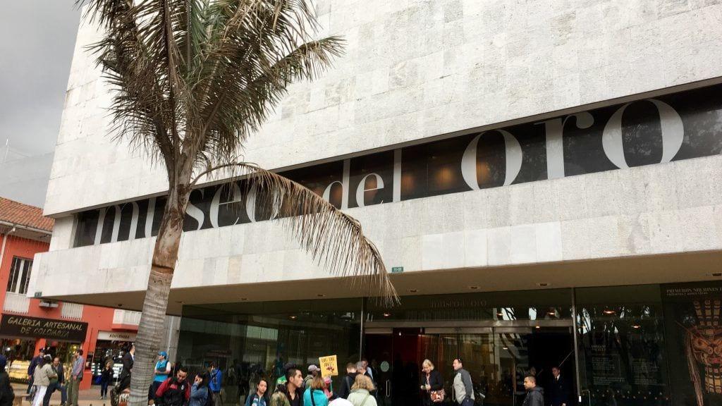 Das berühmte Goldmuseum in Bogotá
