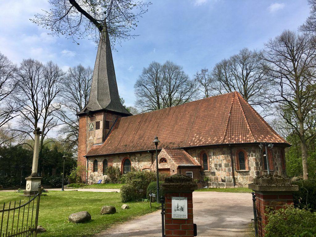 Die Alt Rahlstedter Kirche