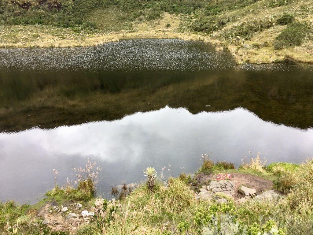 """Die für die Muisca-Ureinwohner heilige Lagune """"Iguaque"""""""