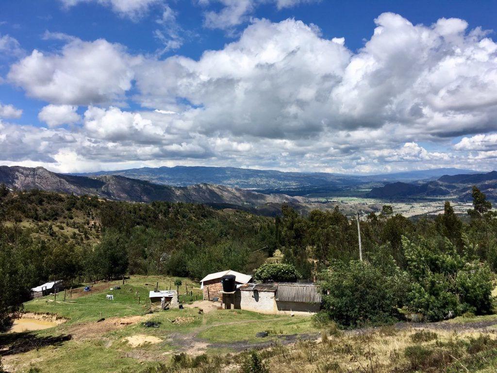 Vor der Abfahrt nach Cucunubá