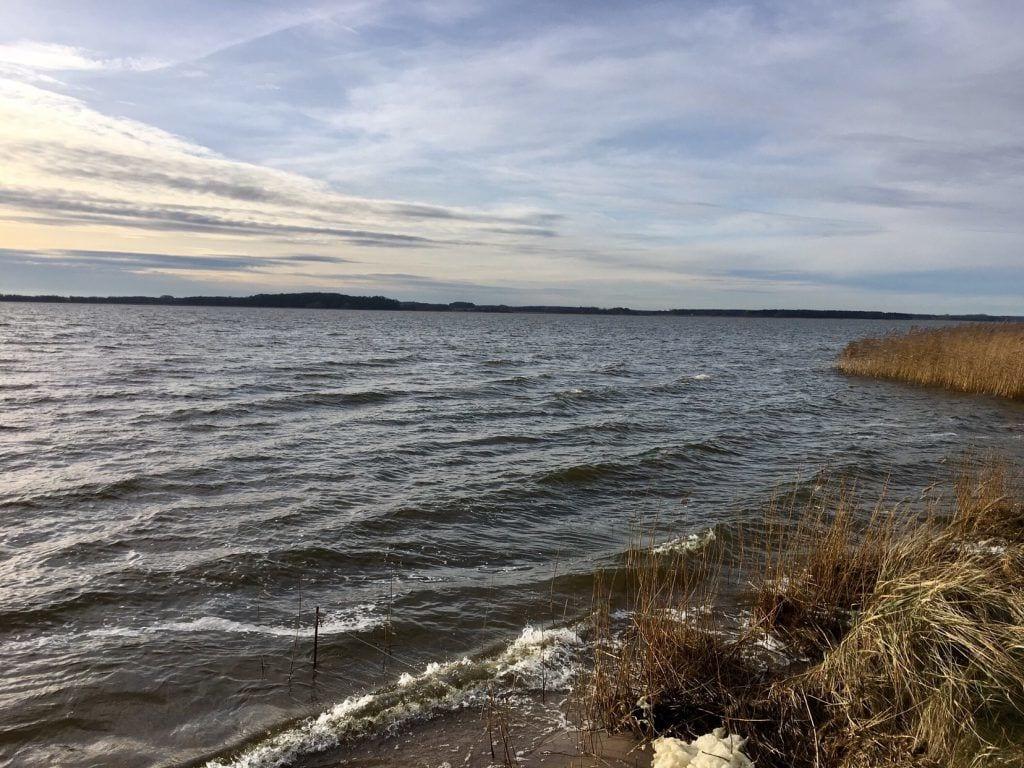 Möwenort: Das Achterwasser ist hier nicht immer so sanft