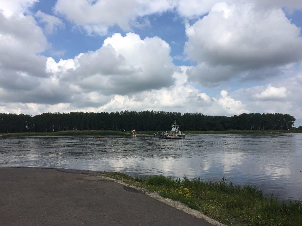 Die Gierseilfähre Werben an der Elbe