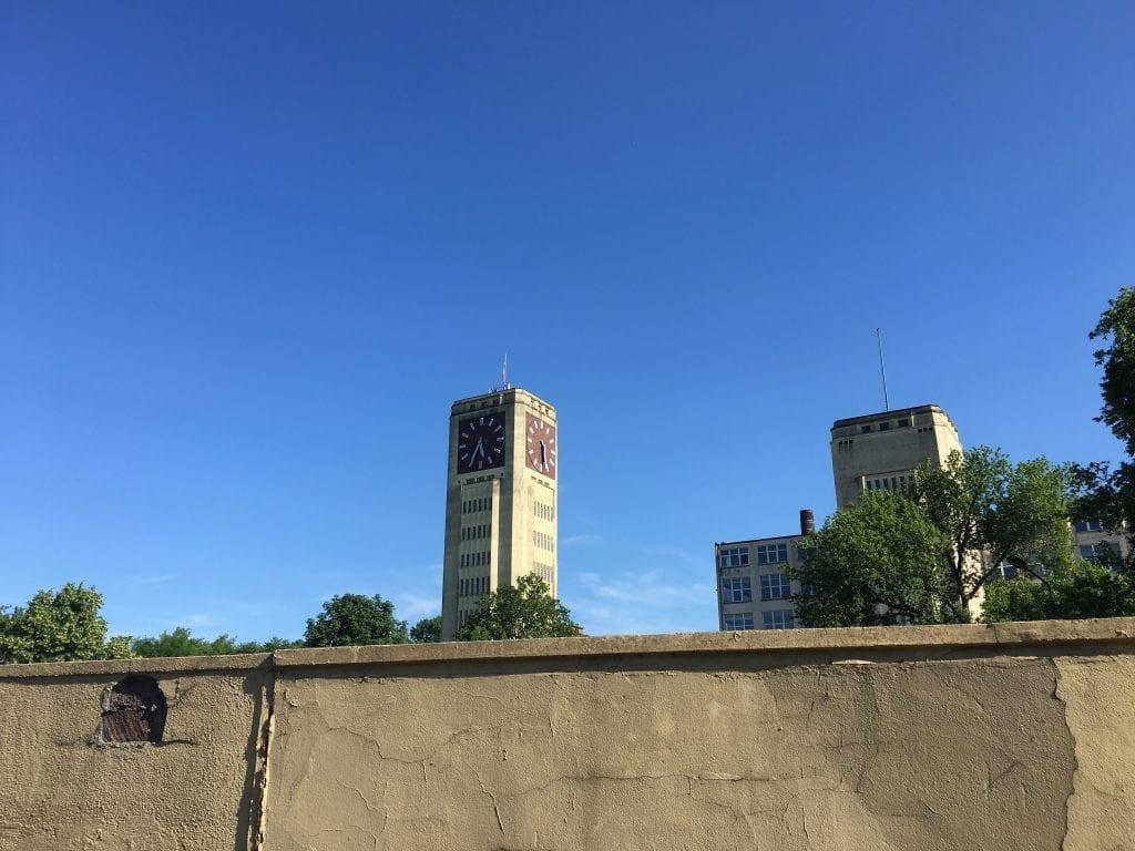 Die größte freistehende Turmuhr in Europa in Wittenberge