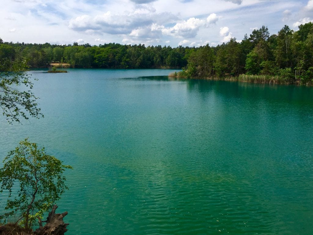 Blick über den Tiefen und den Blauen See (HG) bei Pretzien in Sachsen-Anhalt (nicht Schweden ;)