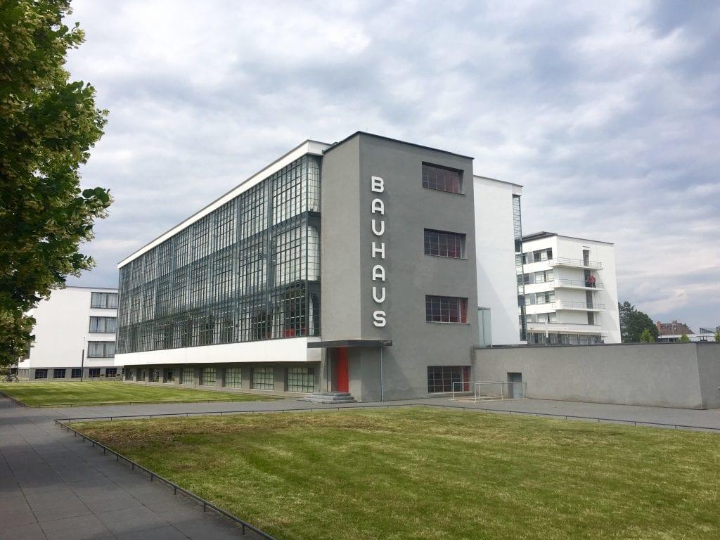 Das Bauhaus in Dessau - Fahrradtour auf dem Elberadweg