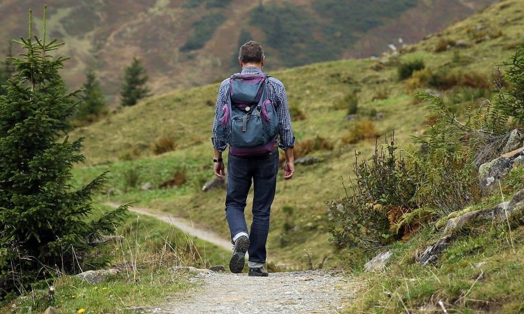 Wandern im Gebirge