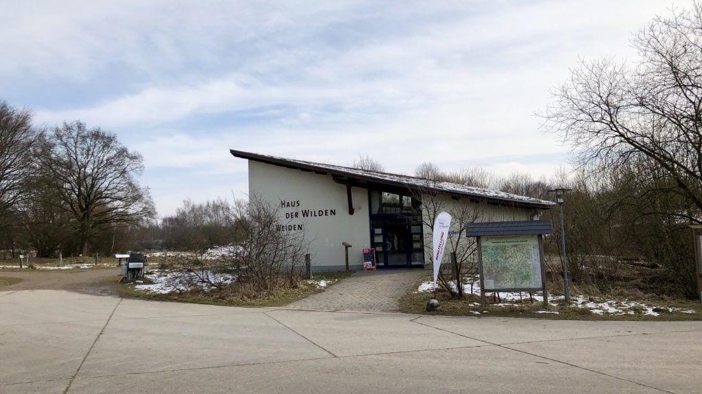 """Das """"Haus der Wilden Weiden"""" im Naturschutzgebiet Höltigbaum"""