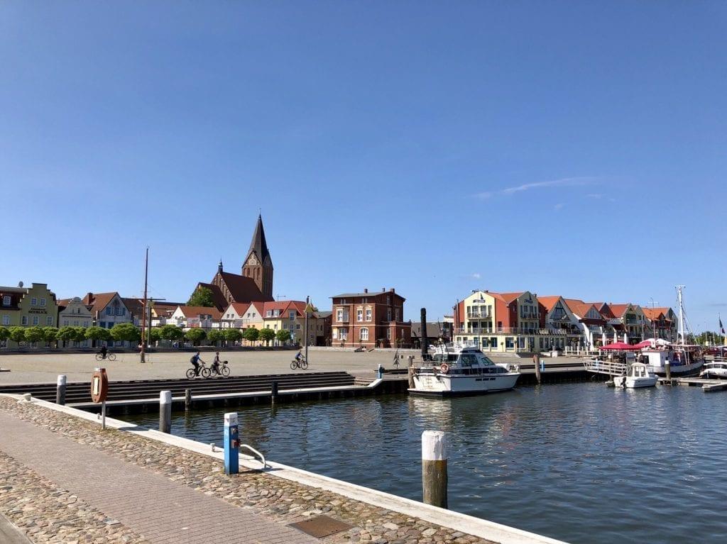 Am Hafen in Barth