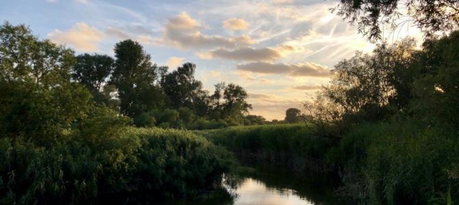 Kurze Wanderung durch das Naturschutzgebiet Heuckenlock