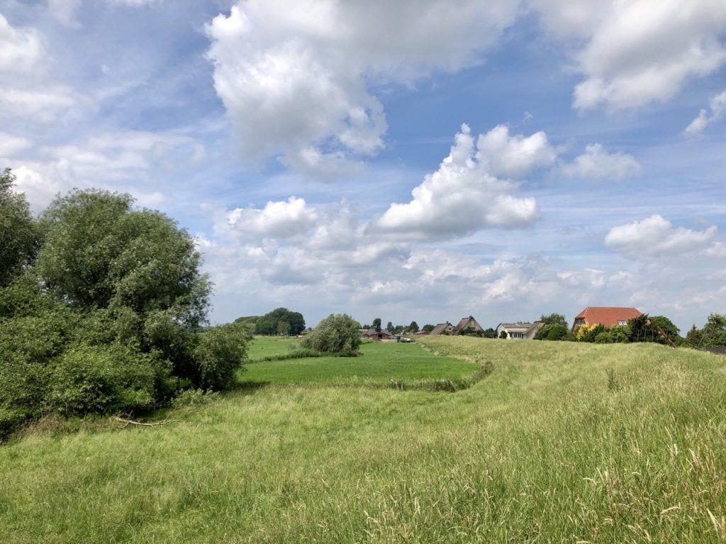 Am Deich in Haseldorf in Schleswig-Holstein