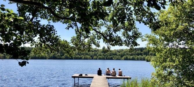 4 Tages Wanderung auf dem Skaneleden in Südschweden