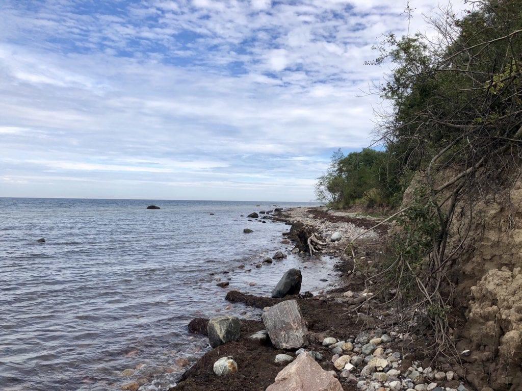 Naturbelassene Küste im Klützer Winkel
