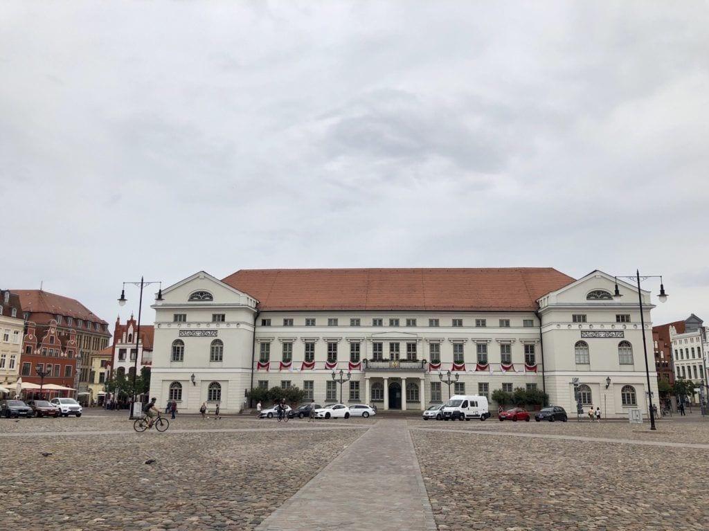Sitz der Stadtverwaltung Wismar am Marktplatz