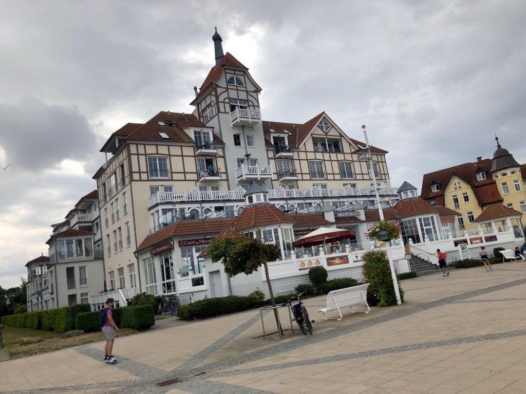 An der Promenade in Kühlungsborn