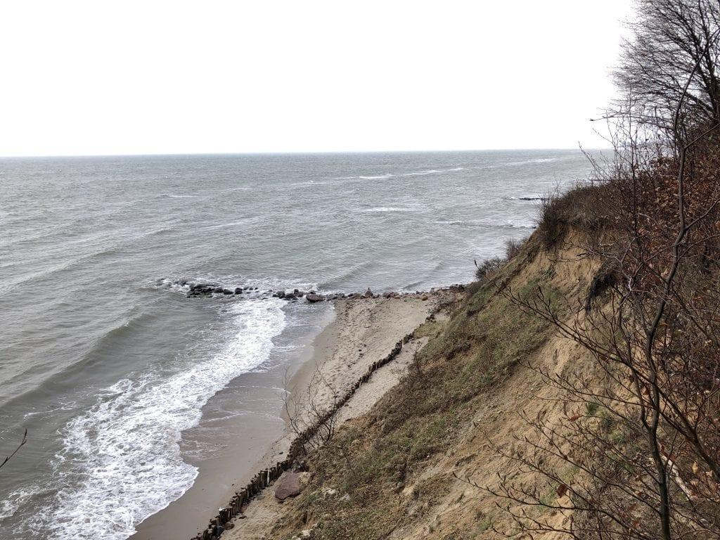 Blick von der Steilküste Brodau auf die Ostsee (2)