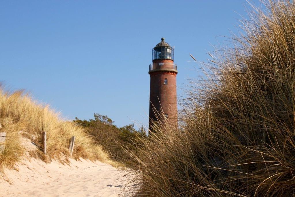 Wandern auf dem Darß: Der Leuchtturm am Darßer Ort