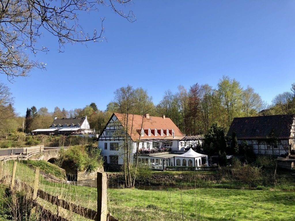 Die alte Fürst-Bismarck-Mühle in Aumühle