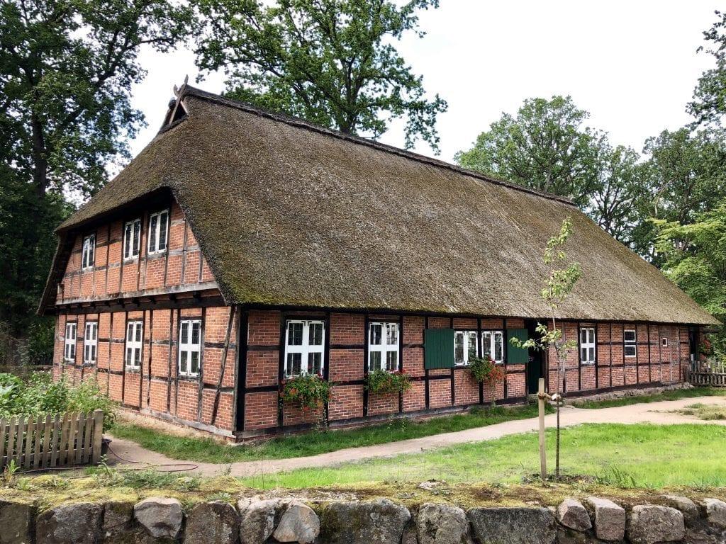 Das Dorfmuseum in Wilsede in der Lüneburger Heide