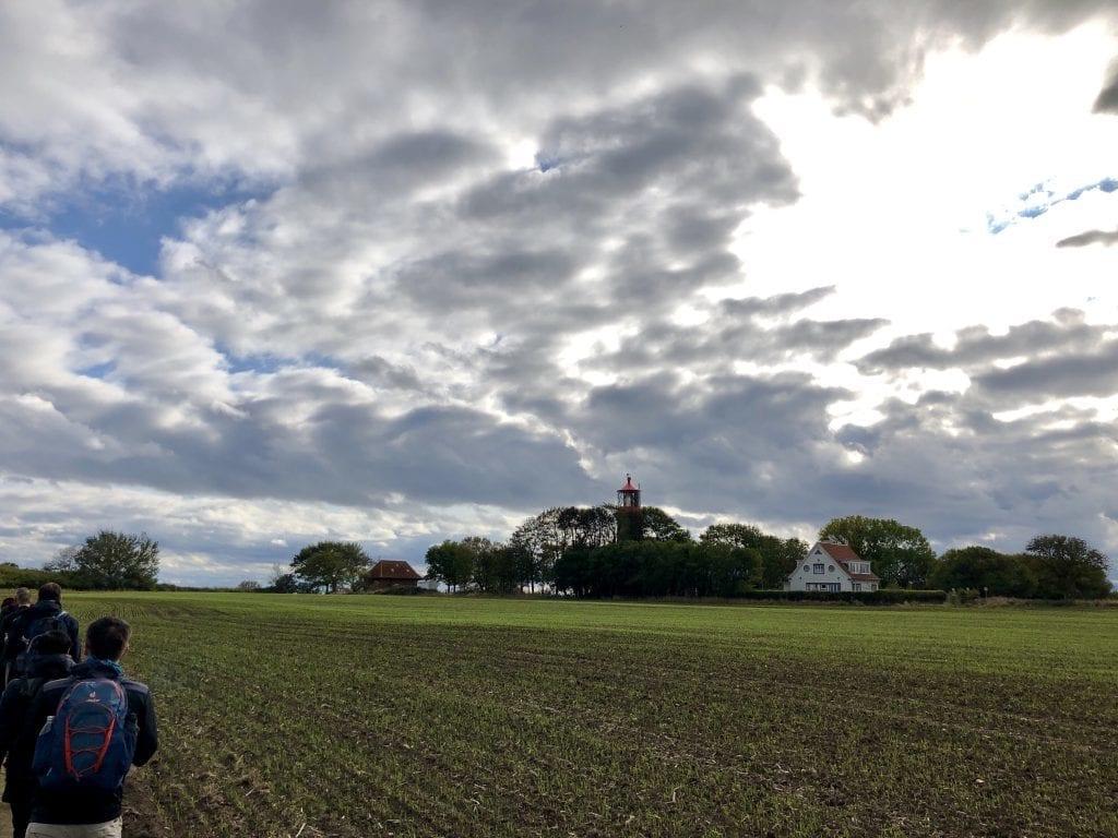 Der Leuchtturm Staberhuk auf Fehmarn