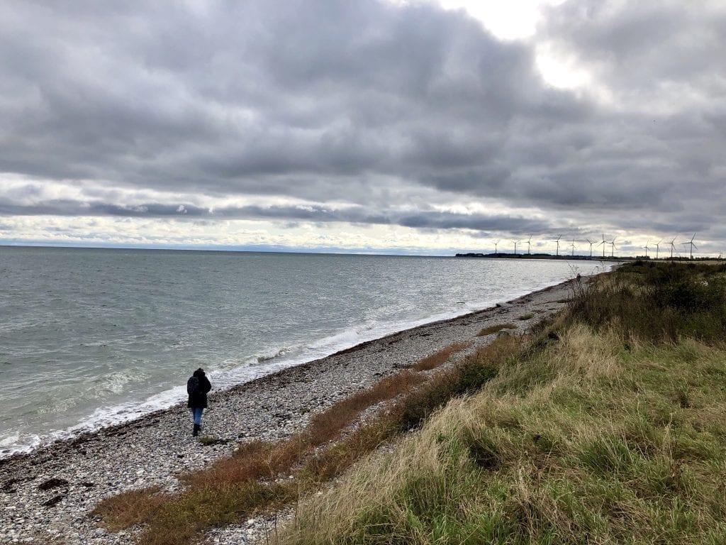 Der Strand in der Nähe von Puttgarden auf Fehmarn