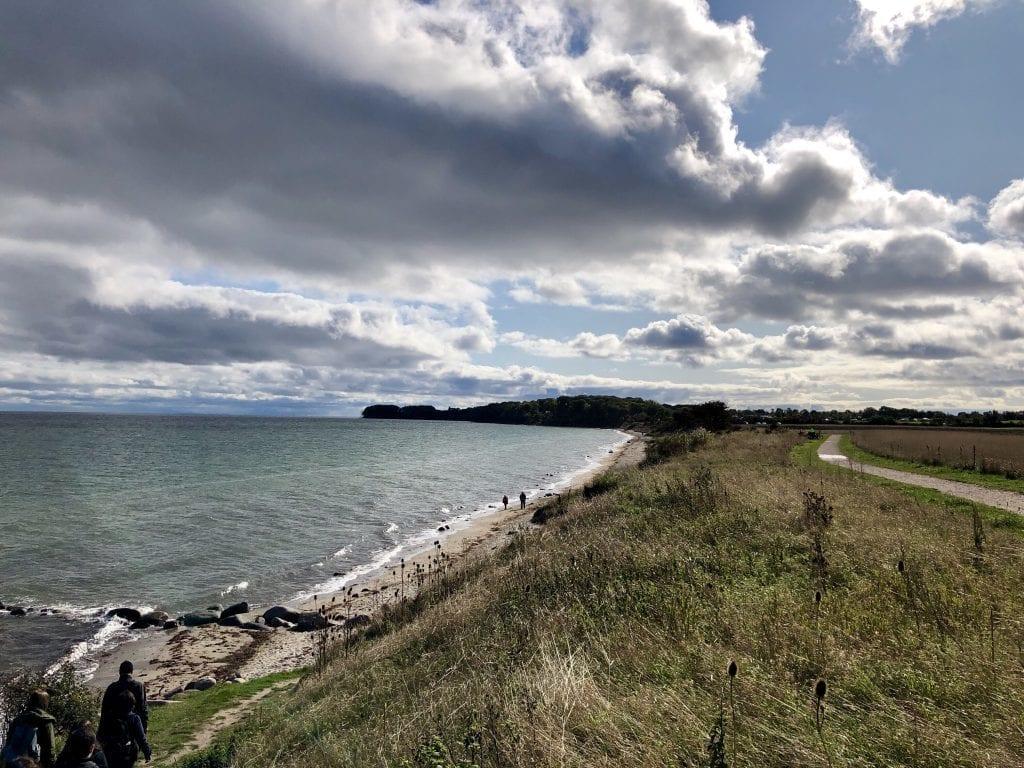 Der Strand südöstlich von Puttgarden auf Fehmarn