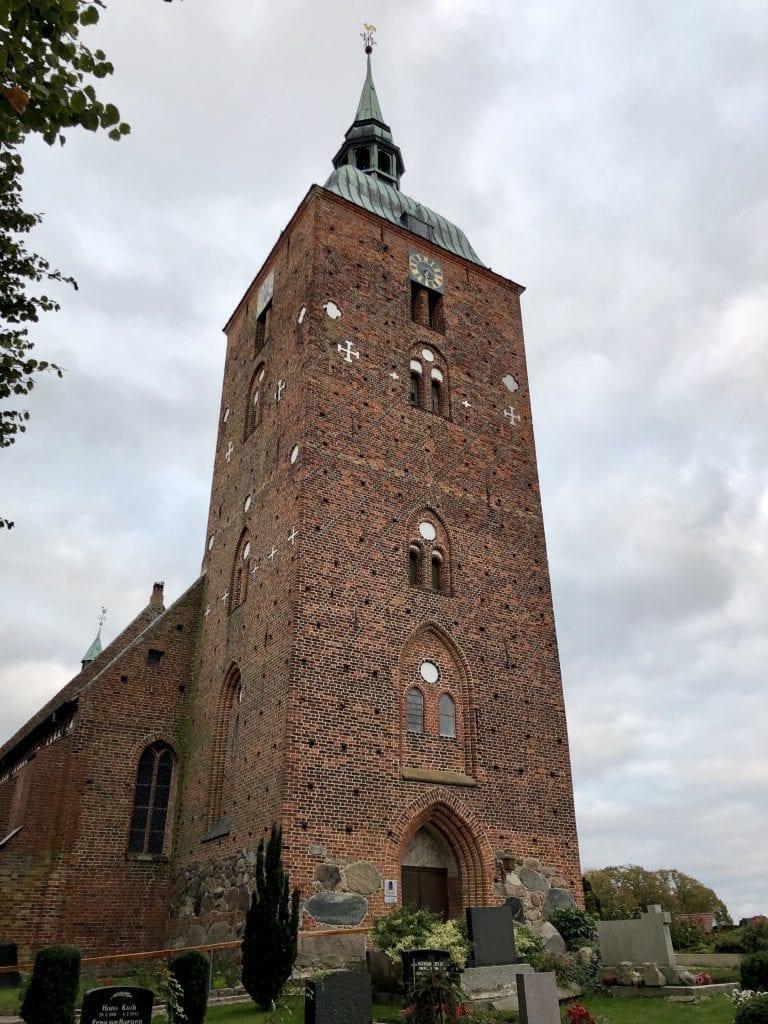 Die St. Nikolai Kirche in Burg auf Fehmarn