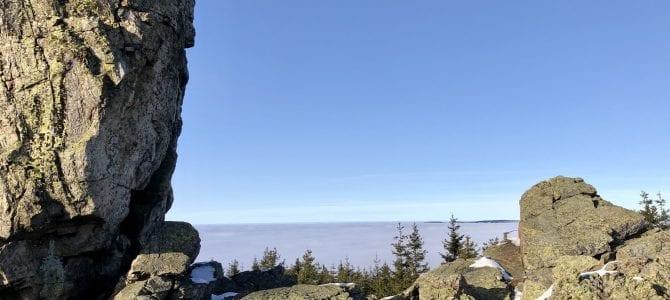 Wandern im Harz: Hinauf zum Panoramablick von der Hanskühnenburg