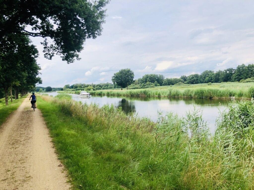 Fahrradtour von Lauenburg nach Mölln - Am Elbe-Lübeck-Kanal bei Büchen