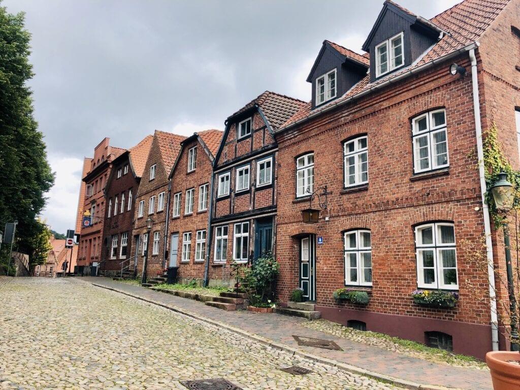 In der Altstadt von Mölln