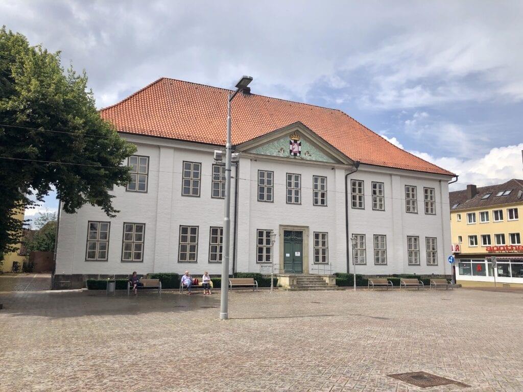 Auf dem Marktplatz von Ratzeburg