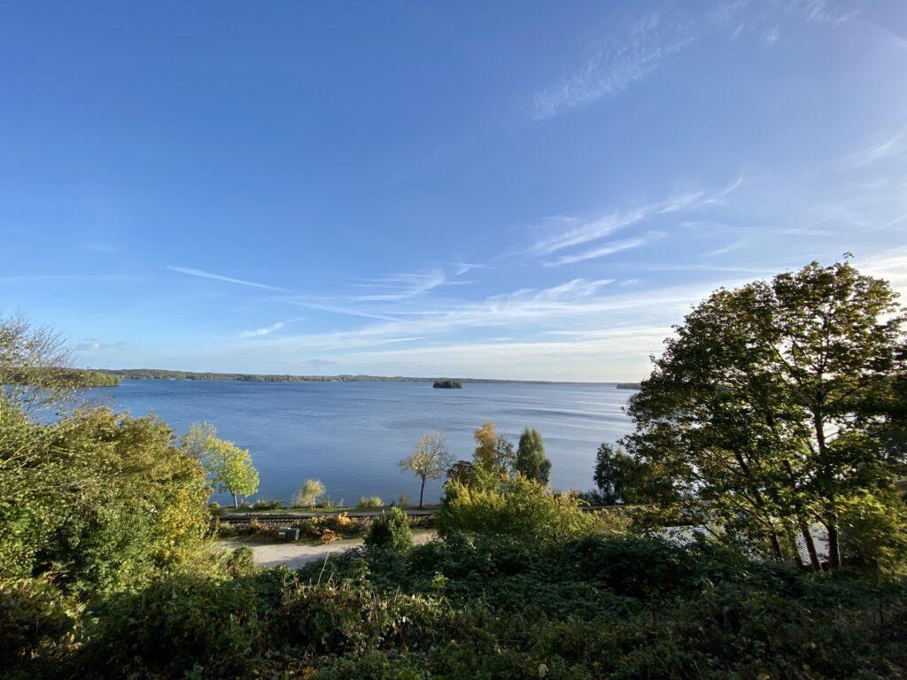 Ausblick vom Plöner Schloss über den Großen Plöner See