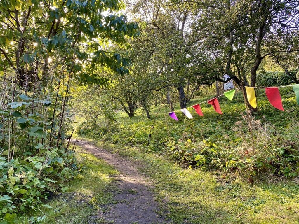 Im verwunschenen Schlossgarten in Plön
